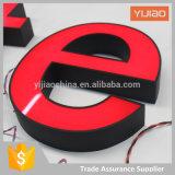 표시 공장 주문품 채널 마스크 Lit LED에 의하여 조명된 3D를 광고하는 LED는 표시를 써 넣는다