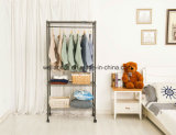 OEMの携帯用ワードローブRa⪞ K Ikeaの寝室の金属の衣服の戸棚のオルガナイザー