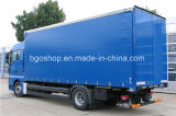 Dekking van de Vrachtwagen van het Geteerde zeildoek van de lage Prijs de pvc Met een laag bedekte