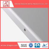 Incombustible Non-Combustible PVDF revestimiento de aluminio Paneles de pared para la decoración mural interior/exterior