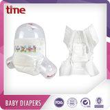 Novo Estilo ultrafino Super Macio absorvente alta respirável Fraldas para bebés descartáveis