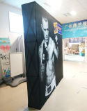 Торговая выставка выставки хлопает вверх стойка индикации знамени