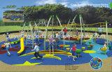 Dia van de Speelplaats van de School van het Stuk speelgoed van de Spelen van kinderen de Grappige