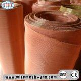 Gabbia del Faraday che protegge la rete metallica di rame rossa