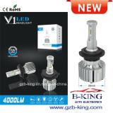 새로운 V1 4000lm 36W 6K 밝은 소형 차 LED 헤드라이트