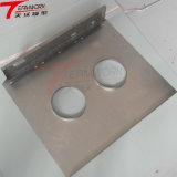 Алюминий индивидуальные металлической части надписи прототипа с ЧПУ