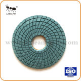 7 pouces de 180mm Marbre Granit souple Tampon à polir humide