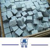 Light Grey/Dark Grey/Red/Yellow Granite Garden/Cobble/Cubes/Kerb/Fan Shape/Paving Stones for Garden/Landscaping/Decorative/Driveway Construction Project