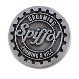 Monograma gravura em metal personalizado para os funcionários da empresa