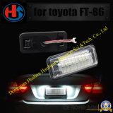 SMD LED de luz de matrícula para el Toyota GT86 FT86 Subaru Brz Wrx lámparas brillantes (HS-LED-005).
