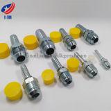16711 적합한 Jic 남성 유압 합동 연결을 적합한 74 도 콘 관 이음쇠 ISO 8434-2 SAE J514