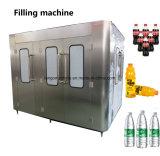 L'eau automatique totale de remplissage et le plafonnement de l'embouteillage de l'emballage de ligne de production