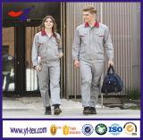 ポリエステル及び35%の綿220GSMファブリックあや織りの機械工メンズのための産業耐火性の安全ユニフォームのWorkwear