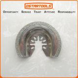 le desserrage rapide de oscillation de demi-cercle de diamant de 64mm (2-1/2 '') scie la lame