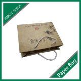 De matte het Eindigen 230GSM Kraftpapier Zak van de Gift van het Document