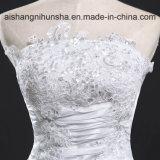 Weinlese-lange Robe-Hochzeits-Kleid-Handabziehbild-Brautkleid