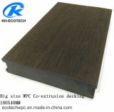 Coextrusion Fireproof Wood Plastic Composite Decking