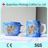 Elementi di ceramica promozionali verniciati Handmade del turista della tazza