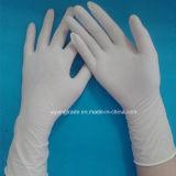 Látex de Stelized pulverizado o guantes quirúrgicos del polvo libremente