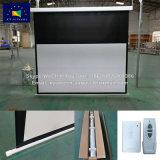 Xyscreen 100 pouces 16 : 9 Plafond mural motorisé électrique Drop Down Écran de projection HD personnalisé chute noir