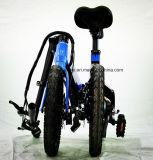 25km/h de velocidad 3D forjar Ebike plegable con batería de liberación rápida