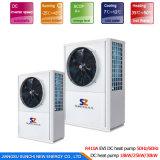 Top10 énergie chaude Cop4.23 R410A 12kw, 19kw, 35kw, 70kw, chaufferette de la vente Save70% de Heatpump de l'eau 105kw