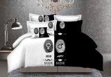 カップル様式の寝具シート4pieces