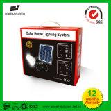 Sistema de iluminación solar de las áreas remotas con el cargador del teléfono