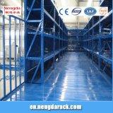 Multi-Hebel Zahnstangen-Dachboden legt StahlMezzaine Fußboden-Racking beiseite