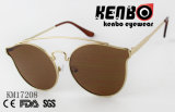 Солнечные очки способа с штангой Km17208 верхней части дуги