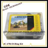 幼虫の掘削機のDリングキットボックス4c-4784