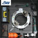 """Od-Mounted Portable Electric Fractionner le cadre de la faucheuse et Beveler du tuyau de la machine pour 8""""-14""""(-355.6219.1mm mm)"""