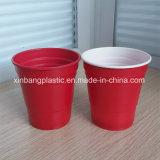 [10وز] أحمر فنجان لأنّ حزب/[10وز] أحمر مستهلكة بلاستيكيّة فنجان /Red بلاستيك فناجين