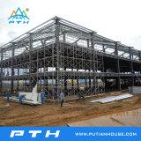 Vorfabrizierte niedrige Kosten-Stahlkonstruktion für Lager