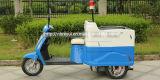 Coche rodado tres eléctricos del compartimiento - vehículo ambiental eléctrico del saneamiento
