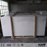 La Chine de gros de quartz gris pur artificielle de dalle de pierre