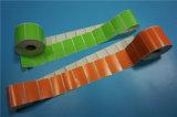 Escritura de la etiqueta termal modificada para requisitos particulares de la transferencia para la impresora de la cebra