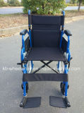 Homecare, sillón de ruedas manual plegable, de acero
