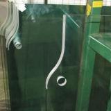 vidro Tempered da porta de 12mm para a instalação da dobradiça da mola