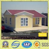 住宅のプロジェクトのための斜面の屋根のプレハブの家