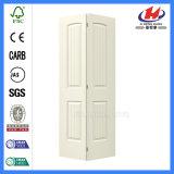 Fabricantes Bi-Fold da porta da dobra do Bi da porta do armário interior de madeira desobstruído da grelha