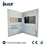 OEM поставляет брошюру дела индикации 7.0 '' LCD видео- рекламируя