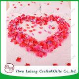結婚式の誕生日記念日の祭典の装飾の安の絹のバラの花びら