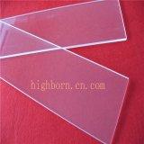 China proveedor UV transparente de la placa de cristal de cuarzo.
