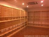 Adega de vinho de Customzied com o gabinete de madeira do vinho do pinho/carvalho