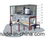 Grote/Industriële het Maken van het Ijs van de Vlok 30ton 40ton 50ton 60ton Machines/Makers/Installatie met 40FT Container voor Visserij/Concreet het Mengen zich Project