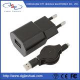 최대 대중적인 USB EU는 Mfi 철회 가능한 케이블을%s 가진 힘 충전기를 폐쇄한다