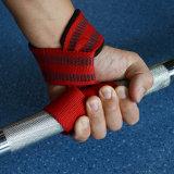 Entrenamiento de levantamiento de pesas Gimnasio Grips correas de soporte de muñeca Levante