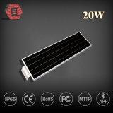 Nuovo stile 20W economizzatore d'energia tutto in un indicatore luminoso di via solare