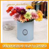 Rectángulo de regalo redondo de la flor (BLF-GB480)